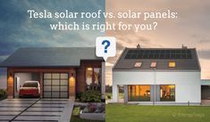 Is the Tesla Solar Roof right for you? Our analysis looks at the projected Tesla Solar Roof cost vs. Small Solar Panels, Solar Energy Panels, Solar Panels For Home, Best Solar Panels, Colorado Springs, Tesla Roof, Solar Shingles, Water Heating Systems, Solar Energy Projects