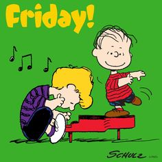Friday Peanuts Cartoon, Peanuts Snoopy, Peanuts Comics, Charlie Brown Cafe, Charlie Brown And Snoopy, Snoopy Friday, Happy Friday, Friday Humor, Snoopy Love