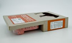 This project was to redesign and improve meat packaging to be better functioning and more environmentally friendly.
