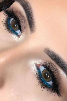 48 hetaste Smokey Eye Makeup Ideas - # make-up ., 48 hetaste Smokey Eye Makeup Ideas - # make-up Perfect Makeup, Gorgeous Makeup, Pretty Makeup, Makeup Looks, Awesome Makeup, Perfect Eyeliner, Beauty Make-up, Beauty Hacks, Beauty Tips