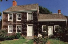 #Walt #Whitman. The house was built, ca. 1819 by the poet's father on Long Island, New York.  [www.artcom.com]