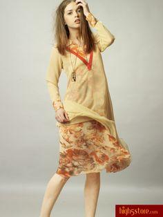 http://www.high5store.com/women-kurtis/308366-yellow-chiffon-georgette-printed-kurti.html