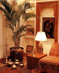 I Love The Simplicity Of Decor In Indian Homes They Are So Tasteful A Leafy Home