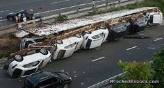 expensive cars wrecked - Google Search