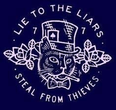 """Tatuar essa frase: """"Lie to the liars, steal from thieves"""". Acab Tattoo, Symbole Tattoo, Tattoo Studio, Boys With Tattoos, Dark Art, Tattoo Inspiration, Tatting, Body Art, Tattoo Designs"""