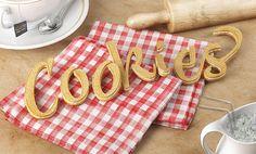 Cookies - Food Typography
