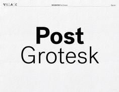 Post Grotesk : http://vllg.com/incubator/post-grotesk