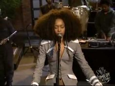 Erykah Badu - I Want You (live).  lovely indeed
