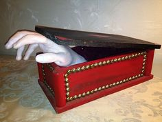 Addams Family Thing's Hand Box Custom Made Halloween Decoration 60's TV Show | eBay