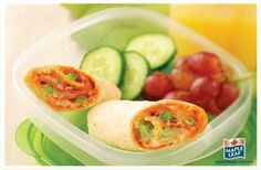 Need to have dinner on the go? These Smart Pizza Wraps are perfectly portable. Cold Lunches, Cold Meals, Lunches And Dinners, Healthy Work Snacks, Healthy Recipes, Pizza Wraps, Picnic Foods, Picnic Recipes, Easy Food To Make