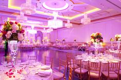 Fuchsia Pink Wedding | The Grove | Abbey Photographers | Contemporary Bride Magazine