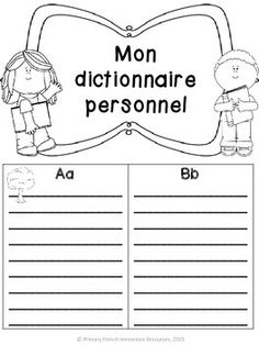 French personal dictionary