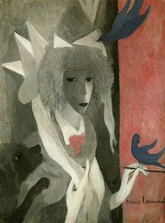 Лорансен Мари / Marie Laurencin ★  Женщина-лошадь. 1918