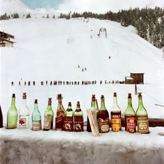 Photos: Robert Capa's Color Pictures of International Ski Resorts | Vanity Fair