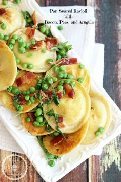 Pan-Seared Ravioli w