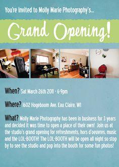 Grand Opening flyer | Salon ideas | Pinterest | Grand opening