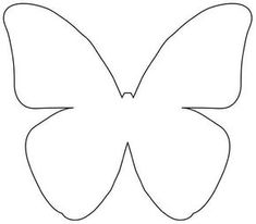 DIY Beautiful Butterfly Decoration from Templates Butterfly Quilt, Butterfly Template, Flower Template, Butterfly Pattern, Crown Template, Butterfly Mobile, Heart Template, Felt Patterns, Card Patterns