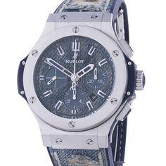 Мужские часы Hublot Big Bang Jeans Steel 44 mm 5d4500c429592