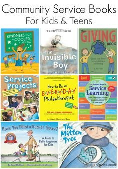 Community Service Books that Encourage Kids (+ FREE Study Unit Resources)