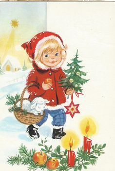 girl and christmastree | par Paicil