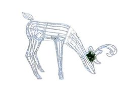 Outdoor Animated Acrylic Reindeer Outdoor Reindeer Christmas Decorations, Animation, Animation Movies, Motion Design