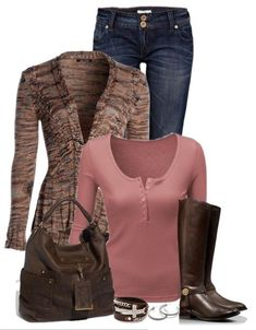 Brown Boots Outfit