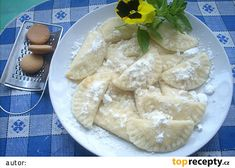 Taštičky plněné tvarohem Camembert Cheese, Dairy, Meat, Chicken, Food, Essen, Meals, Yemek, Eten