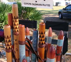 Coyote Oldman Flutes
