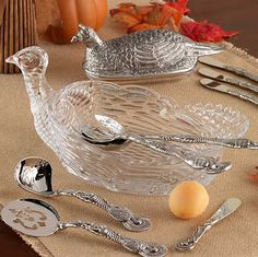 Fall Serveware from Tuesday Morning #seektheunique #TuesdayMorning #turkey #Thanksgiving #fall