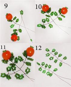 Время работы: 3 дня Сложность: 3 Для создания апельсинового дерева из бисера, вам понадобится все эти материалы. Зеленый бисер грамм 100,несколько крупных бусин штук 25-30,проволока 0,3 мм, проволока 1 мм - для ствола, краски любые (у меня акварель) алебастр - для ствола, клей ПВА и лак (я использовала обычный универсальный). Готовим проволоку 0,3 мм длиной около 80 см.…