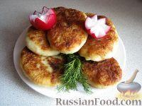 Фото к рецепту: Картофельные котлеты с грибами