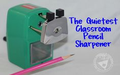 The Thrifty Housewife: Classroom Friendly Supplies Pencil Sharpener Review and Get Ready For School Giveaway!