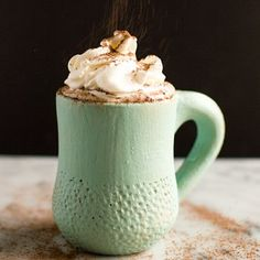 One of my resolutions is to cook more with alcohol. Let's start with this Coconut Kahlúa Hot Chocolate! #ontheblog