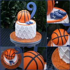 Basket ball cake nba 56 Ideas for 2019 Basketball Party Favors, Basketball Baby Shower, Basketball Birthday Parties, First Birthday Parties, First Birthdays, Basketball Cakes, Basketball Hoop, 40th Birthday Cakes, Boy Birthday