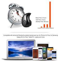 S530 Invisible 4g Earphone BT 4.1 Headphone Sales Online black - Tomtop Smartwatch, Galaxy S8, Samsung Galaxy, Apple Technology, Tech Accessories, Smartphone, Ipad, Iphone, Black