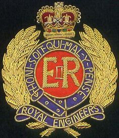 Royal Engineers, High Tech Gadgets, Woodland Camo, Historical Architecture, British Army, Precious Metals, Small Tattoos, Needlework, Badge