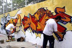 Intervenção Urbana | Grafitte