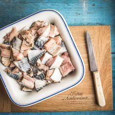 Rybí salát – recept krok 2 Korn, Meat