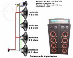 Car Audio Amplifier Speaker Wiring | Hereis another radical system diagram made for me by Danial