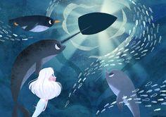 """Consulta este proyecto @Behance: """"Arctic tale"""" https://www.behance.net/gallery/41980451/Arctic-tale"""