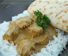 Csirke korma curry - Nemzeti ételek, receptekkeresés Korma, Curry, Palak Paneer, Naan, Easy Cooking, Wok, Bread, Chicken, Ethnic Recipes