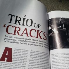 #TrioDeCracks en el nunero 8 de Revista #FiatLux