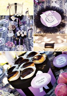 Charming Paris-Inspired Party & Dessert Table // Hostess with the Mostess®