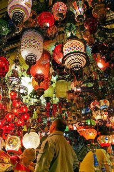 ✿ ❤ Grand Bazaar of Istanbul, Turkey