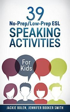 Booktopia has 39 No-Prep/Low-Prep ESL Speaking Activities, For Kids by Jackie Bolen. Buy a discounted Booklet of 39 No-Prep/Low-Prep ESL Speaking Activities online from Australia's leading online bookstore. Esl Lessons, English Lessons, French Lessons, Spanish Lessons, English Lesson Plans, English Websites, Esl Lesson Plans, Esl Speaking Activities, Vocabulary Activities