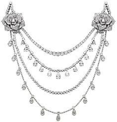 Collar oro blanco diamante - PIAGET