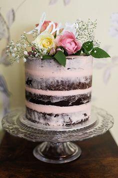 Image result for birthday semi naked ginger cake