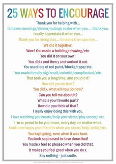 I love this list. Great ways to encourage and connect with your kids.