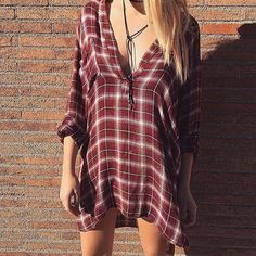 the #bluelife shirt dress  perfect for any season