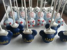 Hey, I found this really awesome Etsy listing at https://www.etsy.com/listing/250192413/nautical-mickey-mouse-cake-pops